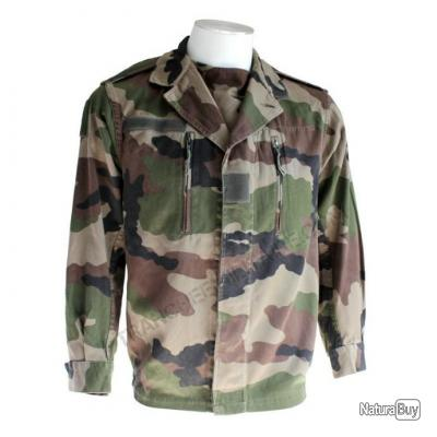 Veste militaire F2 'classique' camouflage