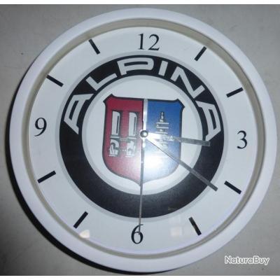 Bmw Alpina Pendule Murale Horloge 20cm Kdo Dko Auto 323 325 528 635