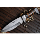 LAME DAMAS - Couteau de chasse en acier de Damas N .. 1b763493caf