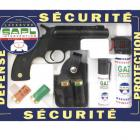 Armes de défense, sécuriré,  Pack pistolet GC27, idéal personne agée, femme au foyer