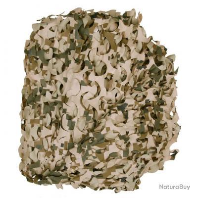 Filet de camouflage : 3 X 1,1 M - couleur désert numérique -  46922