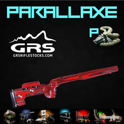 Crosse GRS  SPORTER VARMINT Noire/Rouge  Remington 700 SA