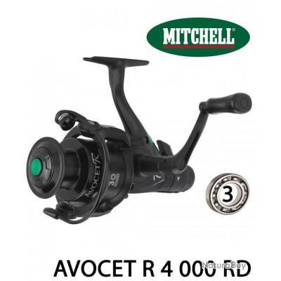 Moulinet Carnassier / Carpe Mitchell Avocet R 4 000 RD
