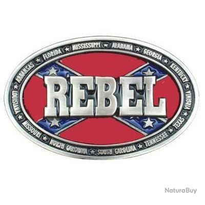Pour ceinturon Boucle confédéré logo REBEL pour pantalon ... 09cb5e2ebf8