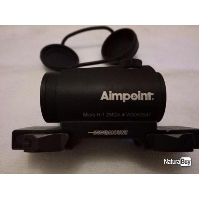 Ampoint micro h1 2 moa + montage blaser innomount