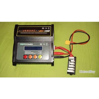 Chargeur de batterie lipo EV-Peak V680AC