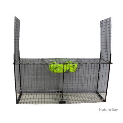 Cage pieges renards à appât suspendu
