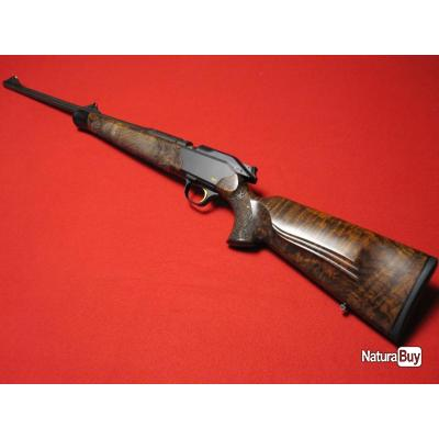 Blaser R8 CUSTOM calibre 30-06 ou 7x64 ou 9,3x62, canons flûtés, NOYER GRADE 9, écailles de poissons