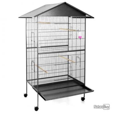 grande cage oiseaux cages oiseaux et voli res 4598037. Black Bedroom Furniture Sets. Home Design Ideas