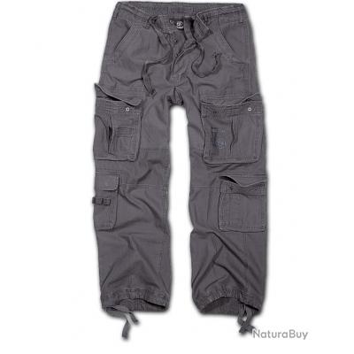 Pantalon BRANDIT Pure Vintage Anthracite