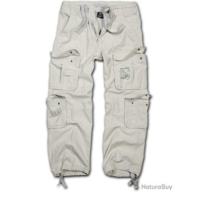 Pantalon BRANDIT Pure Vintage Vieux blanc