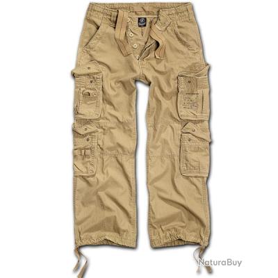 Pantalon BRANDIT Pure Vintage Vieux beige