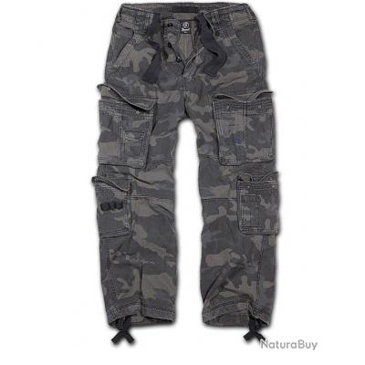 Pantalon BRANDIT Pure Vintage DarkCam