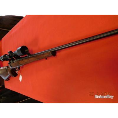 Carabine CZ 527 d'occasion 222 Remington, lunette Meopta modèle Meopra 3,5-10x44 lumineuse,