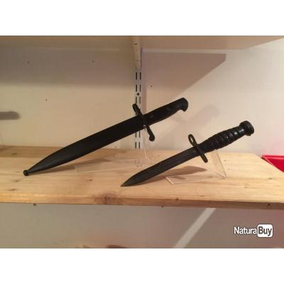 support pr sentoir plexi glass pour couteaux dagues baionnettes couteaux tactiques et de. Black Bedroom Furniture Sets. Home Design Ideas