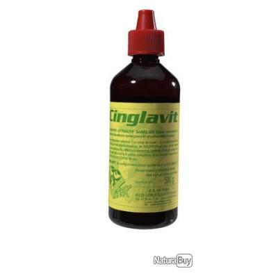 LOTS DE 3 ATTRACTIF SANGLIER CINGLAVIT VITEX 500ML