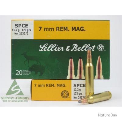 7 mm rem. Mag. SPCE Sellier et Bellot