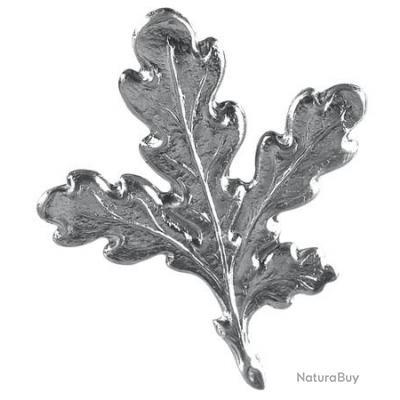 Lots de 4 feuilles de chêne en aluminium