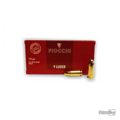 Super Promo!!! 1000 Munitions Fiocchi 9x19