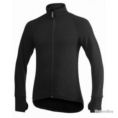 Veste Full Zip Jacket WOOLPOWER Noir 400g