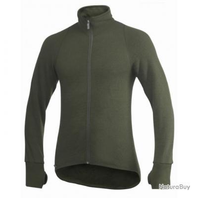 Veste Full Zip Jacket WOOLPOWER Kaki 400g