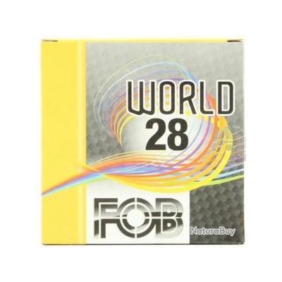PROMO - 250 CARTOUCHES TRAP FOB MOD WORLD - CAL 20/70 - BJ - 28GR - PLOMB 7,5 - 84,50 € TTC - RAPIDE