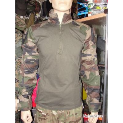 Chemise UBAS Camo C/E Armée Française, combat shirt Under Body Armor