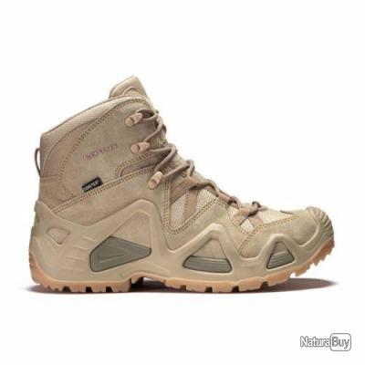 Chaussures Rangers Lowa Zephyr mid Gore-Tex coyote / gtx beige TF