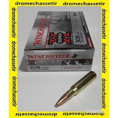 1 boite de 20 cartouches, cal 308 winchester , Power Core 150 grains