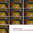 à Saisir Lot de 10 pistolets Air Soft électrique en Destockage