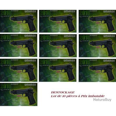 Lot de 10 pistolets Soft Air 2015 électrique en Destockage à ne pas ratter