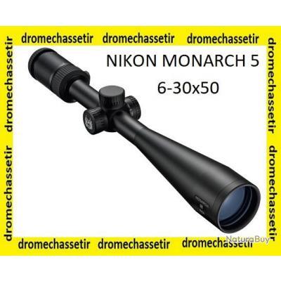 Lunette de tir Nikon Monarch 5,  grossissement 6-30x50, reticule advanced BDC,