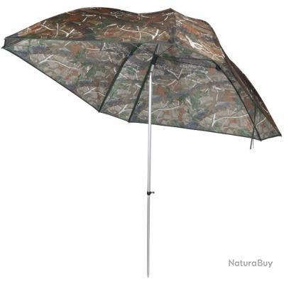 VTK Fishing - Parapluie de Pêche CAMO 250 - OXFORD - Aluminium - SUPERIOR !!A saisir!!