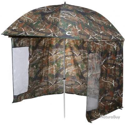 VTK Fishing - Parapluie-tente de Pêche CAMO 250 - Shelter OXFORD - Aluminium - SUPERIOR !!A saisir!!