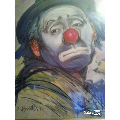 Clowns Triste Aquarelles 4726439