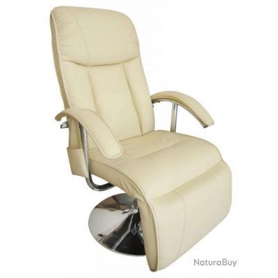 Fauteuil De Massage Confort Relaxant Massage Massant Détente Beige 1702005