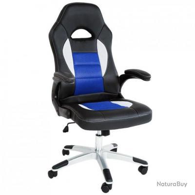 De Sport 0508017 Siège Fauteuil Ergonomique Et Chaise Confortable Noir Bleu Bureau rCoWxEdeQB