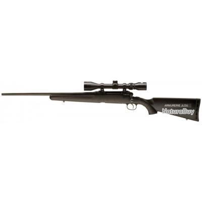 Carabine à Vérrou Savage Axis XP GAUCHER + Lunette 3-9X40 Calibre 30.06
