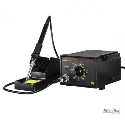 Station de soudage avec fer à souder et socle 50 watts 3414061