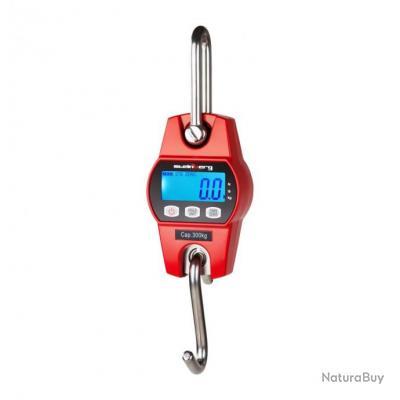 Crochet peseur industriel professionnel rouge 300kg / 100g 3414118