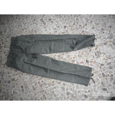 pantalon   vert taille 40  typeTREILLIS  produit Treesco  ripstop neuf