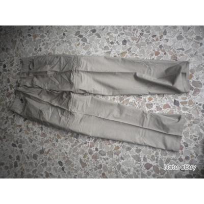 pantalon  beiget taille 44  typeTREILLIS  produit Treesco  ripstop neuf