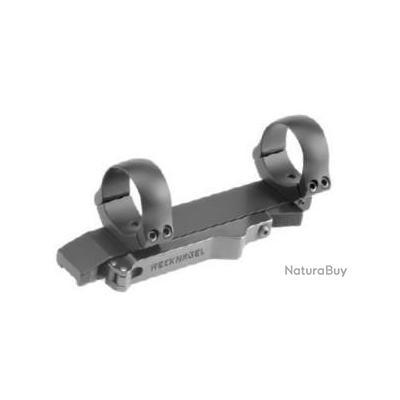 Montage Recknagel  ERA avec verrouillage par levier  pour rail de 12 mm avec colliers de 30 mm