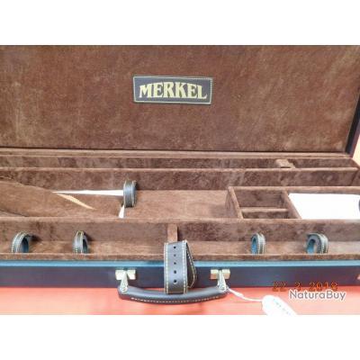 Merkel valise de transport pour la RX HELIX, version luxe, pour 1 arme démontée, 2 optiques,