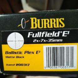 5e3187d966 Lunette burris fullfield E1 3-9x40 avec réticule illuminé optique ...