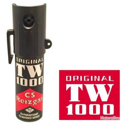 """Bombe lacrymogène CS-Spray """"LADY"""" 15 ml"""
