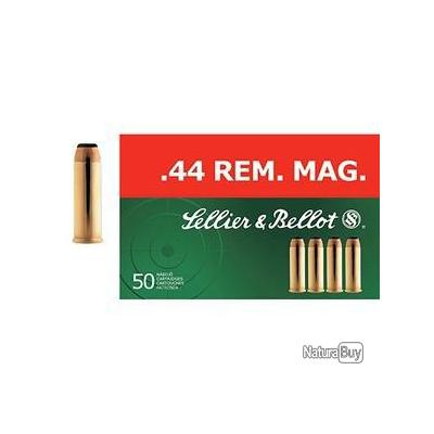 44 rem Mag - Sellier Bellot - x50 / 240 grs