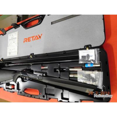 Fusil semi-auto RETAY  Massei Marra d'occasion, calibre 12/76, crosse  synthétique noire