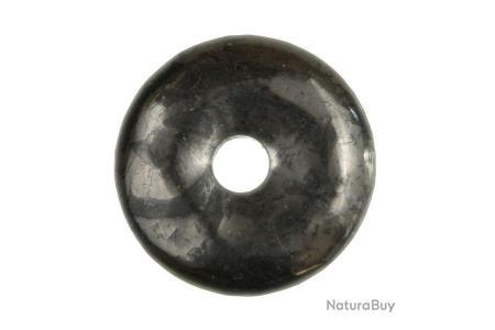 Donut Pi Chinois en onyx pour pendentif
