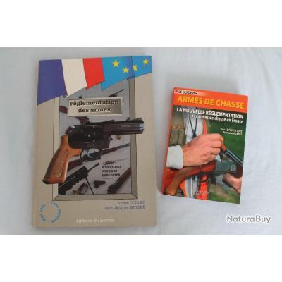 Lot 2 ouvrages réglementation des armes